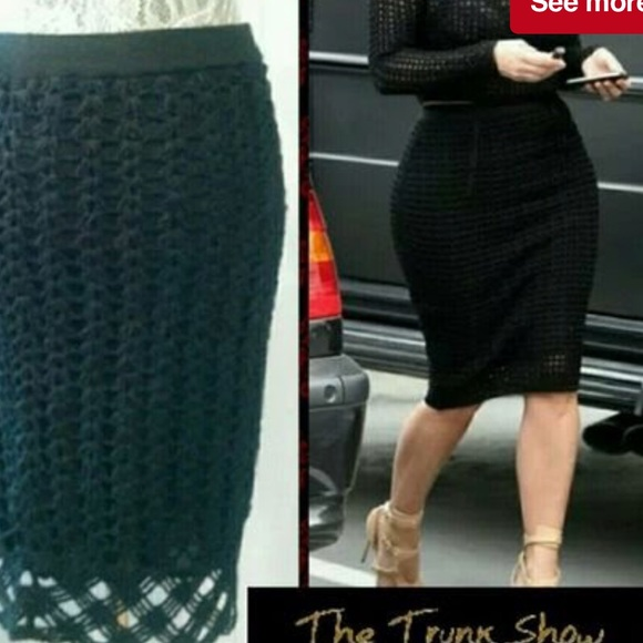 5741211af6 Vivienne Tam Skirts | Crochet Skirt | Poshmark